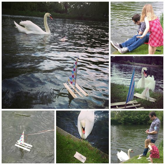 lolly stick boats