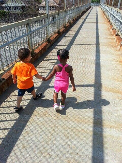 Cobbs hill bridge/ outdoor pics / toddler