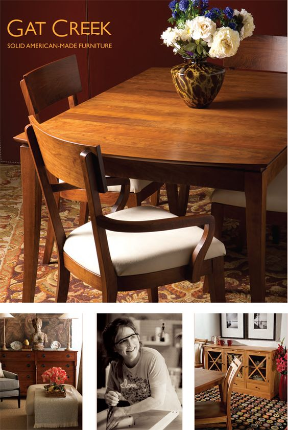 Gat Creek dining table and chairs
