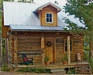 This cabin size is 16′ x 20′