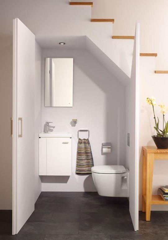 London Builders Bathroom Remodeling Bathroom Under Stairs