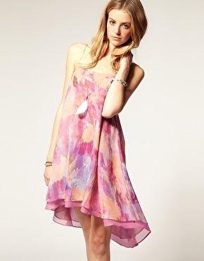 Beta Fashion Certhia Print Strappy Dress By Nikki Strange - StyleSays
