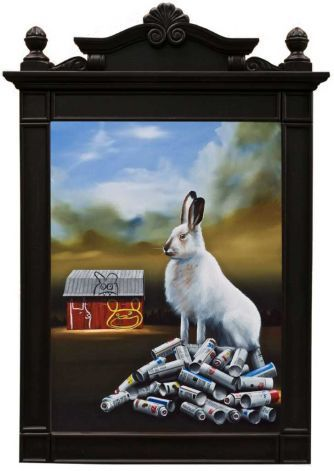 """Bad Hare Day"" by Robert Deyber,:"