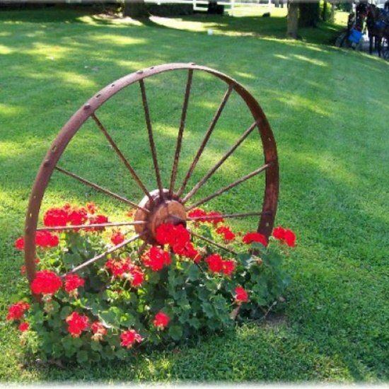 Wonderful Garden Ridge, Wagon Wheels And Driveways