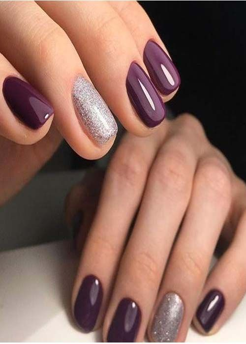 Prefect New Style Nails Color Idea 2019 Fall Gel Nails Simple Gel Nails Sns Nails Colors