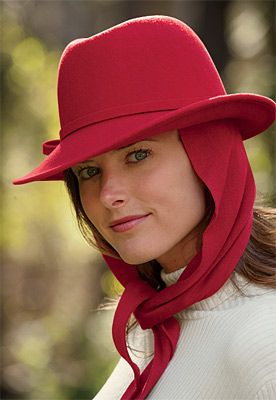 hat with attached scarf search infusion center