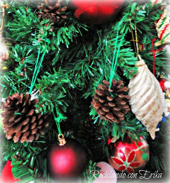Reciclando con Erika : Decoración hogareña con piñas de pino