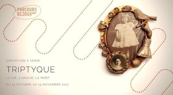"""Barbara_Paganin  """"Triptyque : la Vie, l'Amour, la Mort"""" - Paris Parcours Bijoux 2017 - 14 Oct.-15 Nov. 2017 - Galerie LA Joaillerie par Mazlo, du 14 oct au 15 nov -  Vernissage le samedi 14 octobre à 15h"""