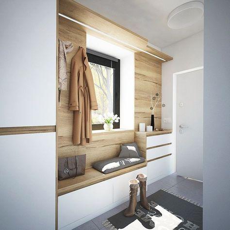 Nice Hallway Wardrobe Solution Hubsche Garderobenlosung Hallway