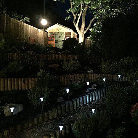 Solarleuchten Fur Den Garten 10 Stuck Perfekt Fur Garten Balkon Und Terrasse Beleuchten Sie Ihren Auss Solarleuchten Solarleuchten Garten Solarlampen Garten