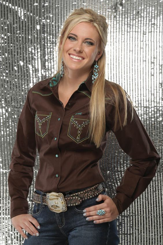 ❤ Cowgirl Brown Snap Shirt - Cruel Girl
