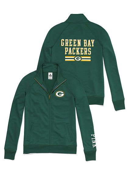 PINK Green Bay Packers Jacket