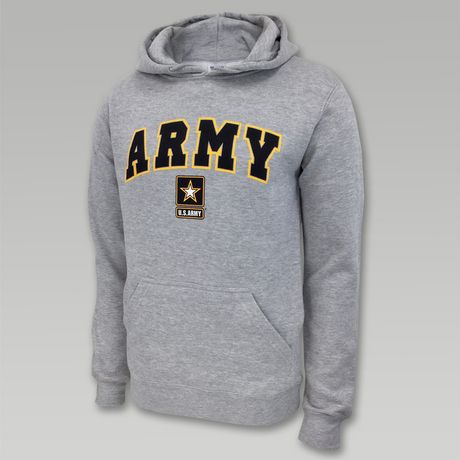 Army Arch Star Hood (Grey)
