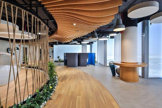 эко-стиль в дизайне офиса