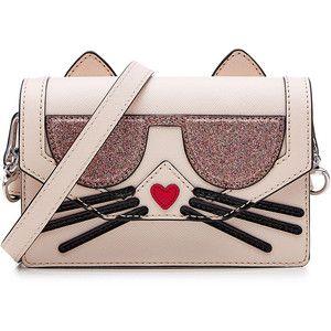 Karl Lagerfeld K/Cocktail Cat Crossbody Bag