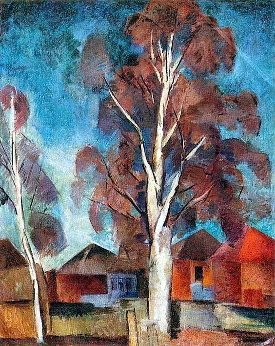 Robert Falk - Birch Tree