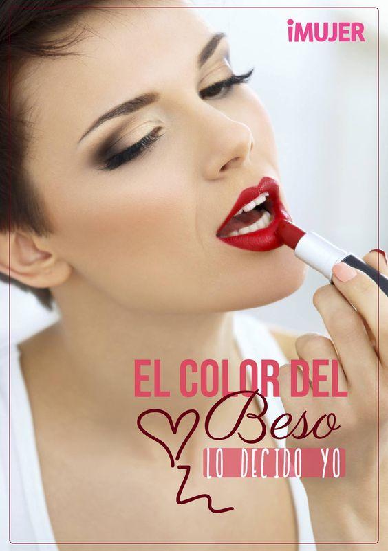 #Frases El color del #beso lo decido yo.: