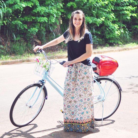 """<3 Bike {via @ladiesfirststore Instagram} // """"Boa tarde, meninassss  Com vocês o primeiro EcoDelivery de roupas de Jaguariúna!!!!  Pra quem é de longe e não sabia: Entregamos nossas encomendas…"""""""