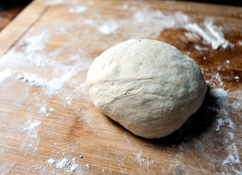 whole wheat pizza dough recipes that makes 4 one pound crusts. Can be stored in refrigerator up to 12 days.