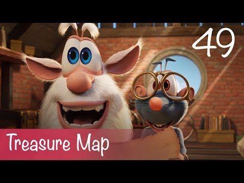 Booba Treasure Map Episode 49 Cartoon For Kids Youtube In 2021 Treasure Maps Cartoon Kids Pirate Treasure Maps