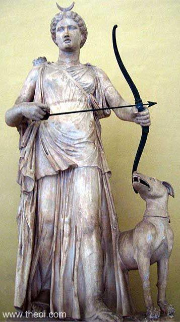 Diana - museo del Vaticano