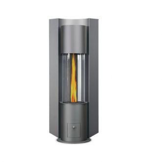 pelletofen cera p1 - farbausführung: grau | kaminofen von cera, Innenarchitektur ideen