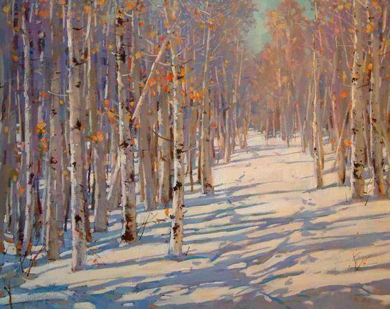 Soft Winter Day by Min Ma