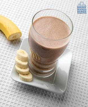 With a boost of protein and a dose of calcium, this Peanut Butter & Banana Breakfast Shake is great fuel before or after a workout.