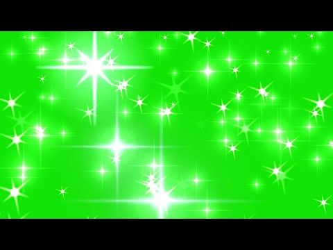 Green Screen Star Lighting Effects Free