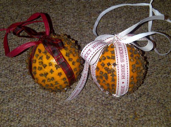Christmas Pomanders