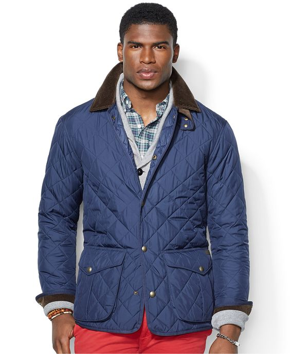 Polo Ralph Lauren Danbury Quilted Car Coat - Coats \u0026amp; Jackets - Men - Macy\u0026#39;s