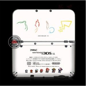 Cartoon pokemon, one piece FOLIEN-SKIN FÜR NINTENDO N3DS XL/LL