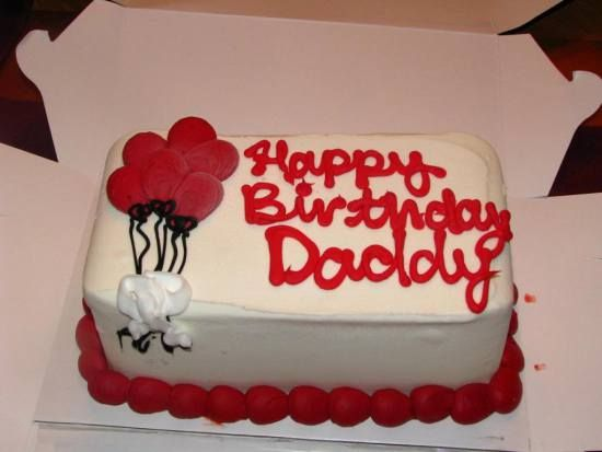Happy Birthday Dad Cake Pictures - Celebrate your daddy ...