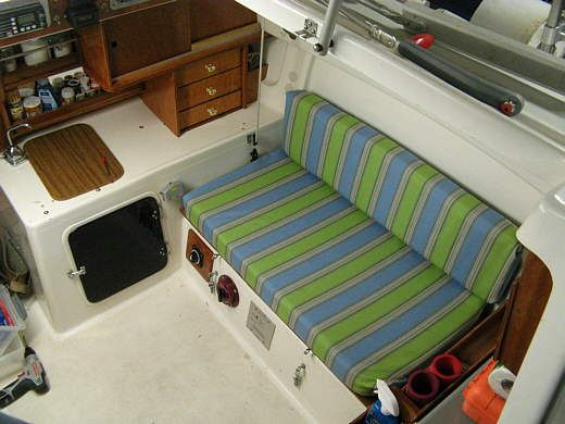 How To Quickly Recover Boat Cushions For Cheap Inside