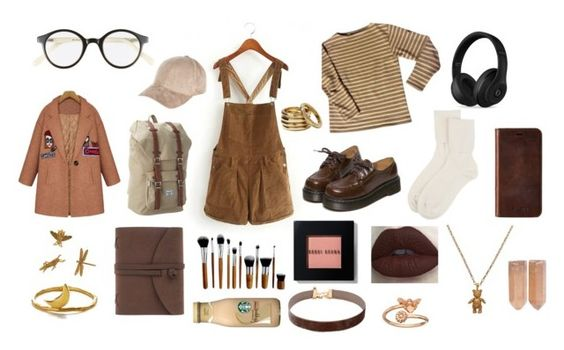 """Untitled #93"" by littlemissmonster13 ❤ liked on Polyvore featuring Saint James, A.J. Morgan, Herschel Supply Co., Johnstons of Elgin, River Island, WithChic, Bobbi Brown Cosmetics, Beats by Dr. Dre, Knomo and Mirabelle"