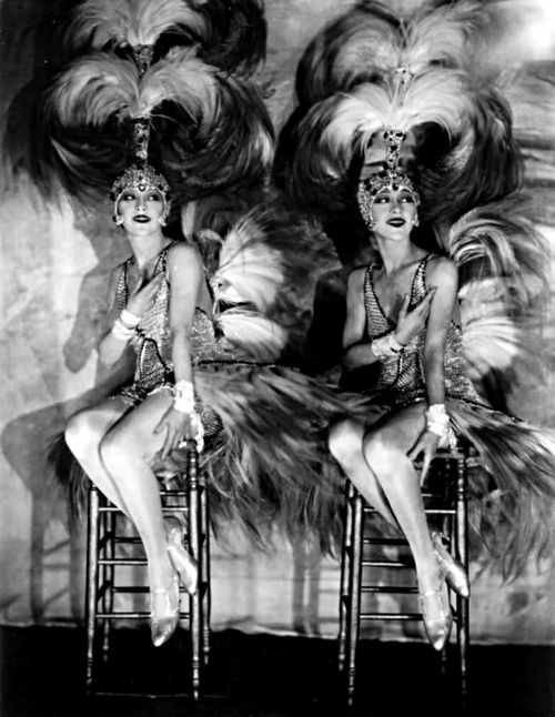 James Abbe: The Dolly Sisters, 1927