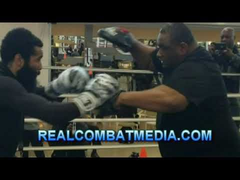 Lamont Peterson Media Workout For Sergey Lipinets Workout Lamont Media