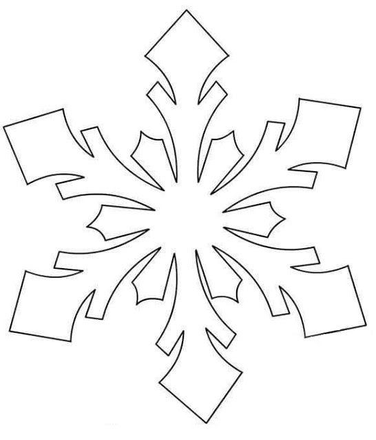 Tareitas Copo De Nieve Copos De Nieve Patron De Copo De Nieve Plantilla De Copo De Nieve