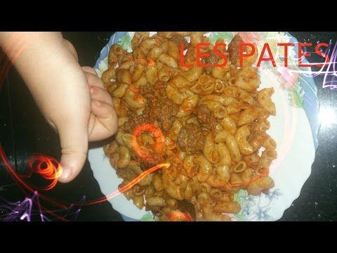 38 Melissa Kahina Les Pates مكرونة بالصلصة الحمرا واللحم المفروم طيبة وسهلة Youtube Meat Shrimp Food