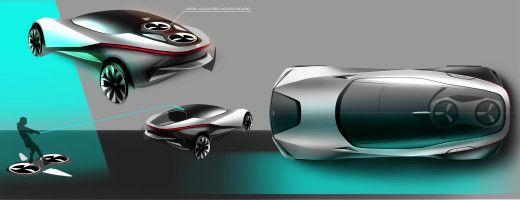 Проект Ken Nagasaka —Toyota Cross Cruiser / Yamaha Hover Board - Cardesign.ru - Главный ресурс о транспортном дизайне. Дизайн авто. Портфолио. Фотогалерея. Проекты. Дизайнерский форум.