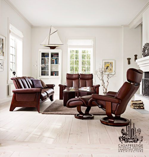 As the name suggests, Stressless furniture makes comfort furniture - seating products to be exact. Just looking at the images reassures that these chairs don't only provide the perfect support, but they do so with design appeal. There is quite a variation in style among these creations, so you can be sure that in achieving the ultimate comfort, you will also find the ultimate design to suit your tastes.