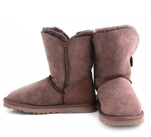Chocolate Bailey Button UGG Boots.The Christmas promotion! Our Price : $160.00 Sale Price :$109.00 Save: 32% off