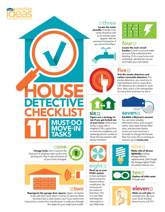 Before You Move Check Out Our New House Checklist These