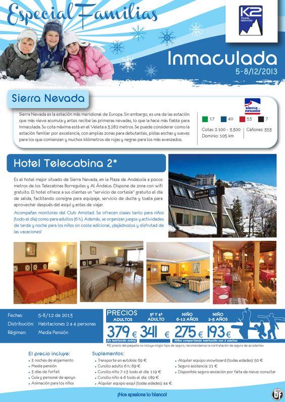 Especial Familias - Sierra Nevada - Hotel Telecabina en MP y FF desde € 379 - http://zocotours.com/especial-familias-sierra-nevada-hotel-telecabina-en-mp-y-ff-desde-e-379-2/