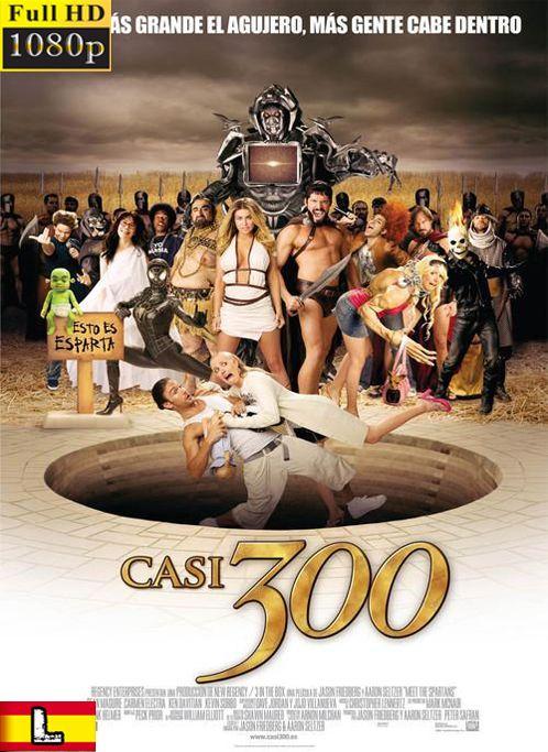 Casi 300 2008 1080p Hd Latino Movie Coleccion Spartans Movie Posters Comedy Movies