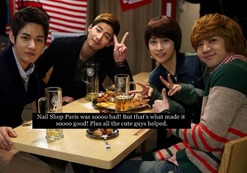 Nail Salon Paris Park Gyu Ri As Bunny Cheon Doong Jin Dorama Pinterest Parks Nails And Salons
