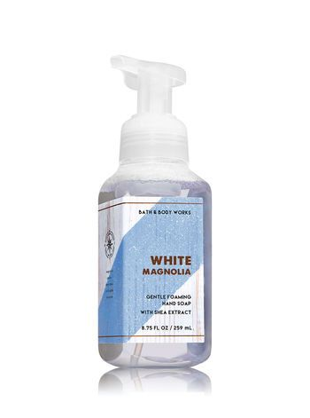 White Magnolia Gentle Foaming Hand Soap Bath And Body Works