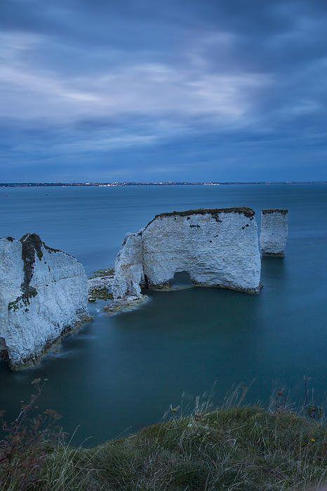 Harry Rocks - Dorset Print By Brian Jannsen