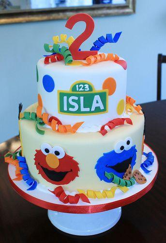 Islas Cake Sesame streets Sesame street cake and Cake