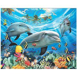 Dolphin World Beach Blanket $29.98